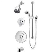 Symmons Dia® Tub/Shower/Hand Shower System - Polished Chrome