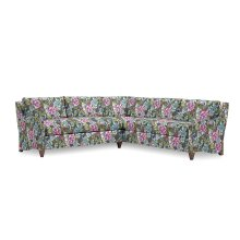 WHISTLER SECTION RF CRNR SOFA + LF Loveseat, HYDR-TEAL