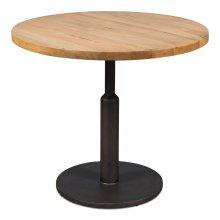 Gunmetal Round Dining Table
