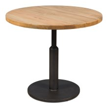 Gunmetal Round Dining Table