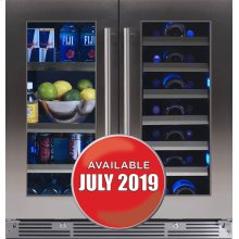 """30"""" French Door Beverage Centers Wine Refrigerators"""
