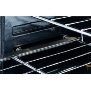 "48"" eight burner gas self-clean range + convection oven - LP"