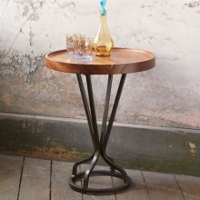 "Juno Accent Table Brown 18""x18""x22"""