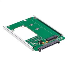 M.2 NGFF SSD (B-Key) to 2.5 in. SATA Open-Frame Housing Adapter