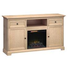 Extra Tall Fireplace Custom TV Console