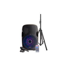 """15"""" Multi-LED Bluetooth Speaker Package"""