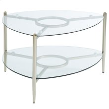 Skylar Coffee Table in Champagne Gold
