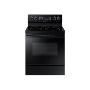 5.9 cu. ft. Freestanding Electric Range with Convection in Black Product Image