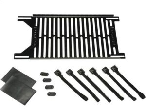 Black Small Parts Panel; Fits all Component Series AV racks Product Image