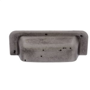 Rustic Nickel 96 mm Rustic Square Cup Pull Product Image