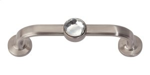 Legacy Crystal Bracelet Pull 3 Inch (c-c) - Brushed Nickel Product Image