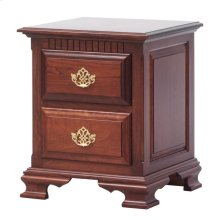 Victoria's Tradition 2 Drawer Nightstand