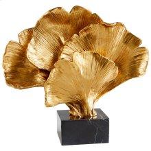 Gilded Bloom Sculpture