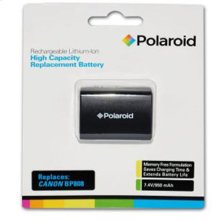 Polaroid High Capacity Canon BP-808 Rechargeable Lithium Replacement Battery