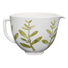 5 Quart Winterberry Ceramic Bowl