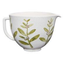 5 Quart Winterberry Ceramic Bowl