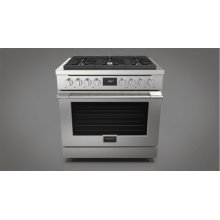 "36"" DUAL FUEL RANGE - STAINLESS STEEL"