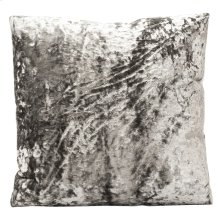 XANADU PEWTER PILLOW  Down Feather Insert