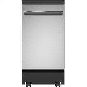 """GE® 18"""" Portable Dishwasher"""