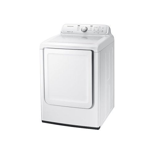 7.2 cu. ft. Electric Dryer with Moisture Sensor in White