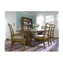Harvest Table and 6 Chairs