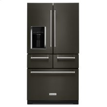 "25.8 Cu. Ft. 36"" Multi-Door Freestanding Refrigerator with Platinum Interior Design - Black Stainless Steel with PrintShield™ Finish"