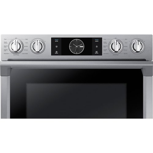 """30"""" Flex Duo Double Wall Oven in Stainless Steel"""