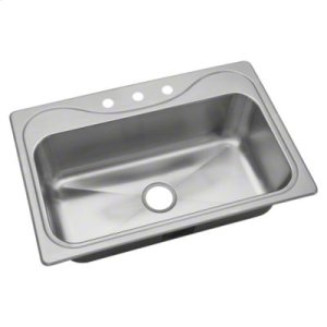 """Southhaven® Single Basin Sink, 33"""" x 22"""" Product Image"""