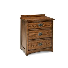 Oak Park Three Drawer Nightstand