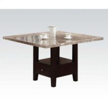 Kit - Wh Marble Top Din. Table