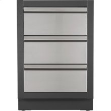 OASIS Three Drawer Cabinet , Grey