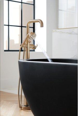 Single-handle Floor Mount Tub Filler - Less Handle Product Image