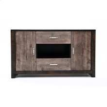 Urban Graphite 2 Door 2 Drawer TV Stand