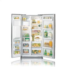 Side-By-Side Refrigerator with Ice and Water Dispenser (25.9 cu.ft.)