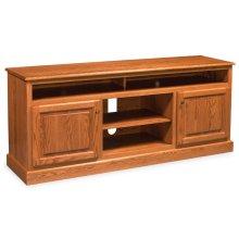 "Classic TV Stand with Soundbar Shelf, Classic TV Stand with Soundbar Shelf, 55 1/2""w"