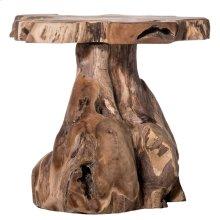 JAKARTA STOOL- NATURAL  Natural Finish on Teak Wood