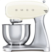 Smeg 50s Retro Style Design Aesthetic Stand Mixer, Cream