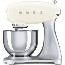 Smeg 50s Retro Style Design Aesthetic Stand Mixer, Cream