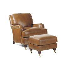 Bradley Chair and Ottoman