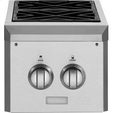 GE Monogram® Dual Burner Outdoor Cooktop (Natural Gas)