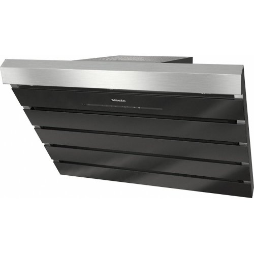DA 6798 W Shape Wall ventilation hood with energy-efficient LED lighting and touch controls for simple operation.