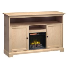 Extra Tall Fireplace Custom TV Console