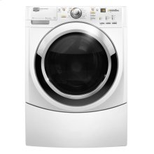 Performance Series Front Load Washer with Fresh Hold Option (This is a Stock Photo, actual unit (s) appearance may contain cosmetic blemishes. Please call store if you would like actual pictures). This unit carries our 6 month warranty, MANUFACTURER WARRANTY and REBATE NOT VALID with this item. ISI 34602