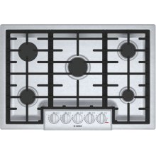 800 Series Gas Cooktop 30'' Stainless steel NGM8056UC