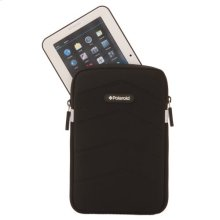 Polaroid Plush Neoprene 7 Inch Tablet Sleeve, Black - PAC170BK