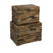 Moreton Wood Chests - Set of 2
