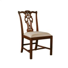 MASSACHUSETTS REGENCY MAHOGANY SIDE CHAIR