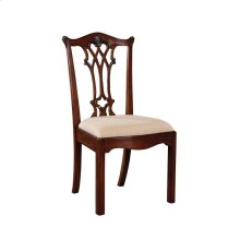 CONNECTICUT REGENCY MAHOGANY SIDE CHAIR