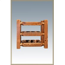 Homestead Countertop Wine Rack - Stained and Lacquered