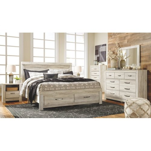 King Panel Bed Frame